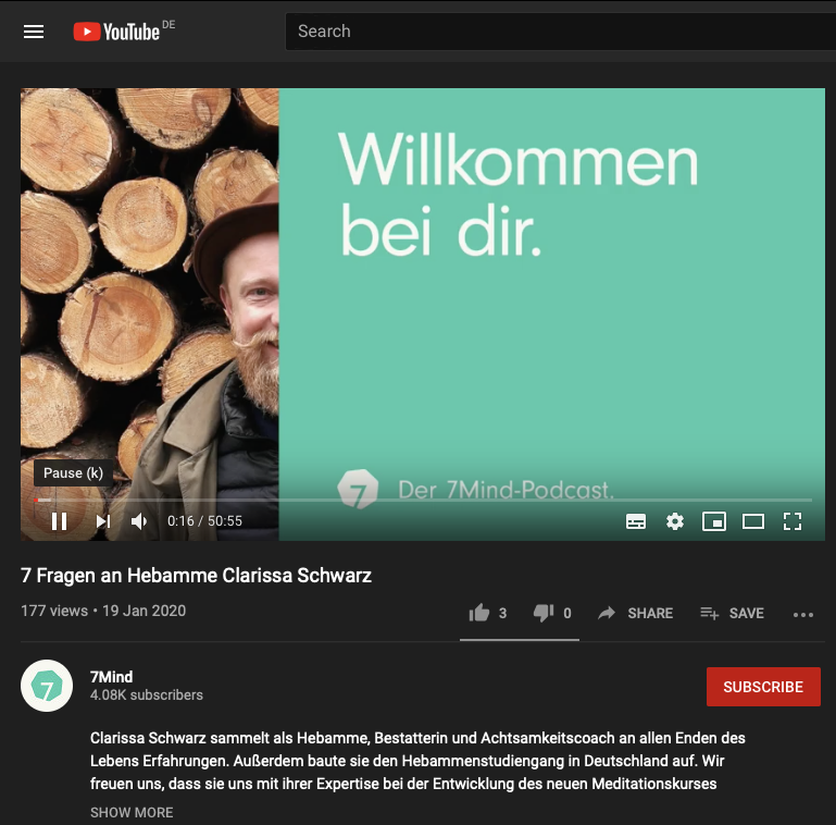 Podcast: 7 Fragen an Hebamme Clarissa Schwarz